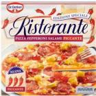 DR. OETKER RISTORANTE Edizione Speciale Pepperoni Salame Piccante Pizza mrożona 320g