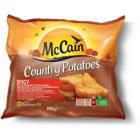 MCCAIN Country Potatoes Ćwiartki ziemniaka z ziołami 600g