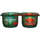 DANONE Activia Truskawka Jogurt (2 sztuki) 240g
