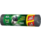 JAN NIEZBĘDNY Magnum Worki na śmieci z taśmą 60l 10 szt. 1szt