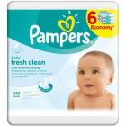 PAMPERS Baby Fresh Chusteczki Pielęgnacyjne 6x64szt 1szt