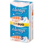 ALWAYS Ultra Sensitive Normal Plus Duo Podpaski 2x10szt 1szt