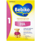 BEBIKO HA1 Mleko modyfikowane hypoalergiczne początkowe-od urodzenia 350g