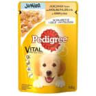PEDIGREE JUNIOR Pokarm dla psów z kurczakiem w galaretce - saszetka 100g