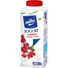 MILKO Jogurt pitny żurawinowy 330ml