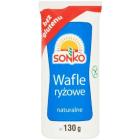 SONKO Wafle ryżowe naturalne 130g