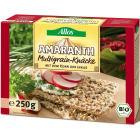 ALLOS Pieczywo chrupkie amarantusowe wielozbożowe BIO 250g