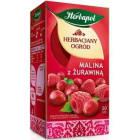 HERBAPOL Herbaciany ogród Herbata owocowo-ziołowa Malina z Żurawiną 20 torebek 60g
