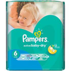 PAMPERS Active Baby Pieluchy Rozmiar 6 Extra Large (15+kg) 24 szt 1szt