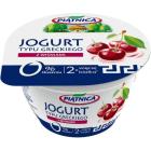PIĄTNICA Jogurt typu greckiego 0% z wiśniami 150g