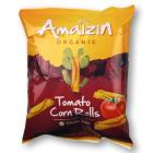 AMAIZIN Chipsy kukurydziane rolls pomidorowe BIO 100g