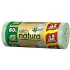 JAN NIEZBĘDNY Eko Natura Worki na śmieci zawiązywane 60 l 20 szt. 1szt