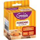 GOSIA Foremki na muffinki 30 sztuk 1szt