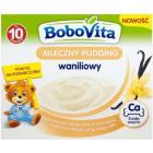BOBOVITA Mleczny Pudding Waniliowy - po 10 miesiącu 4x100g 400g