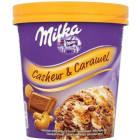 MILKA Cashew & Caramel Lody czekoladowo-waniliowe z karmelem 480ml