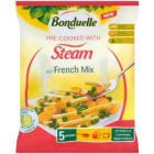 BONDUELLE Przygotowane na parze Mieszanka warzywna French mix mrożona 400g