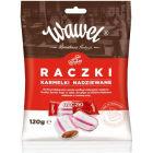 WAWEL Cukierki nadziewane karmelki Raczki 120g