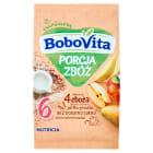 BOBOVITA Porcja Zbóż Kaszka mleczna 7 Zbóż jabłkowo-gruszkowa - po 6 miesiącu 210g
