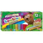 ST. MAJEWSKI BAMBINO Plastelina 12 kolorów 1szt