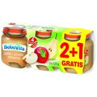 BOBOVITA Deserek 2+1 Gratis Jabłka i gruszki Williamsa - po 4 miesiącu 3x125g 375g