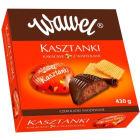 WAWEL Bombonierka Kasztanki kakaowe z wafelkami 430g