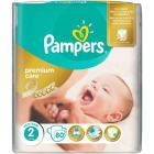 PAMPERS Premium Care Pieluchy Rozmiar 2 Mini (3-6 kg) 80 szt 1szt