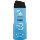 ADIDAS After Sport 3 Żel pod prysznic do ciała włosów i twarzy 400ml