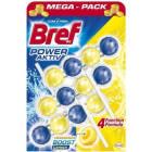 BREF Power Aktiv Zawieszka do wc Lemon 3 sztuki 1szt