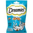 DREAMIES Karma uzupełniająca dla kotów i kociąt z wybornym łososiem 60g