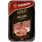 SOKOŁÓW Gold Salami dębickie - plastry 100g