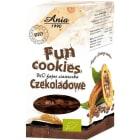 BIO ANIA Fun Cookies Ciasteczka czekoladowe BIO 120g