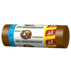 JAN NIEZBĘDNY Worki do segregacji 35l 20szt - brązowy 1szt