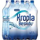 KROPLA BESKIDU Naturalna woda mineralna gazowana 6x1,5l 1.5l