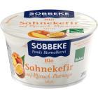 SOBBEKE Kefir Serek brzoskwinia-maracuja BIO 200g