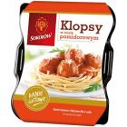 SOKOŁÓW Danie Gotowe Klopsy w sosie pomidorowym - tacka 400g