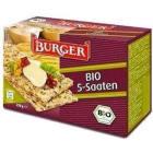BURGER Pieczywo chrupkie razowe 5 ziaren BIO 250g