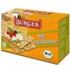 BURGER Pieczywo chrupkie żytnie razowe BIO 250g