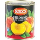 SKO Brzoskwinia Połówki 850ml