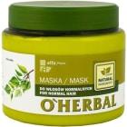 O`HERBAL Maska do włosów normalnych z ekstraktem z brzozy 500ml