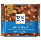 RITTER SPORT Czekolada mleczna z orzechami macadamia 100g