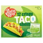 POCO LOCO Taco Shells 12 szt. 125g