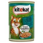 KITEKAT Pokarm dla kotów z makrelą w sosie - puszka 400g