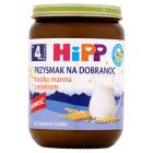 HIPP Przysmak na Dobranoc Kaszka manna z mlekiem BIO - po 4 miesiącu 190g