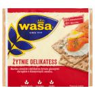 WASA Delikatess Pieczywo chrupkie żytnie 210g