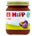 HIPP OWOCE Śliwki BIO - po 4 miesiącu 125g