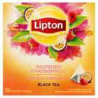 LIPTON Herbata Marakuja Malina 20 torebek piramidek 32g