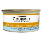 GOURMET Gold Pokarm dla kotów - mus z tuńczykiem (puszka) 85g