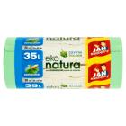 JAN NIEZBĘDNY Eko Natura Worki na śmieci zawiązywane 35 l 30 szt. 1szt