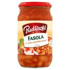 PUDLISZKI Fasola w sosie pomidorowym 620g