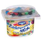 DANONE Zakręcony mix Jogurt waniliowy z drażami 125g